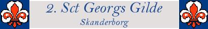2. Sct. Georgs gilde Skanderborg